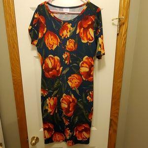 NWT LuLaRoe Julia Fitted Dress